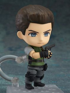 "Pre-Order Release Date: April 2017 ""The fear... of walking there"" From the popular game series that reached its 20th anniversary in 2016, 'Resident Evil' comes a Nendoroid of Chris Redfield! The figur"