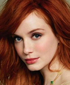christina hendricks makeup - Google Search