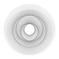 Hypotrochoid (Spirograph to you and me) designs | hypo / Matt Booth via Flickr