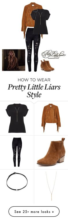 """Hanna Marin 6x20 outift"" by rosewoodangel on Polyvore featuring Gestuz, Phase Eight, Shay and SaveHanna"