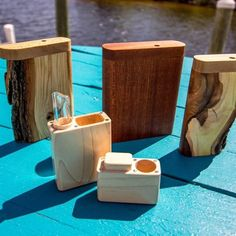 Hand made dugouts with glass or ceramic one hitter. Perfect for on the go. Now available at #chillwaze