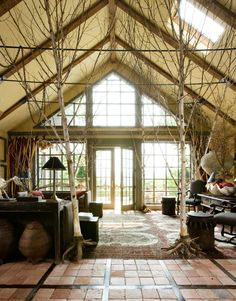 anyone that knows me knows how I love bringing the outdoors in!