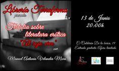 Tertulia sobre literatura erótica 'Al rojo vivo' - Librería Terraferma