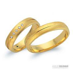 Trauringe Eheringe Gold Gelbgold - CLR1543