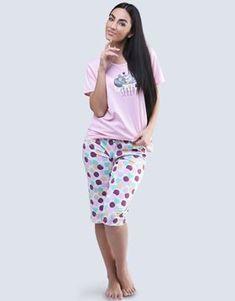 pyžamo 3/4 dámské | Gina Gin, Skirts, Products, Fashion, Moda, Fashion Styles, Skirt, Jeans