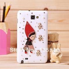 For Samsung Galaxy Note 2 Little Red Riding Hood mini diamond cellphone case free shipping for Samsung note 2 case,for Samsung.For Samsung Galaxy Note 2 Little Red Riding Hood mini diamond cellphone case free shipping for Samsung note 2 case,for Samsung. #free shipping #red girls #DIY #for Samsung note 2 case