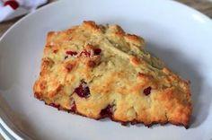 cranberry orange scones