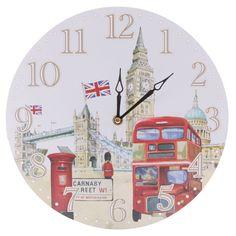 London Landmarks Clock