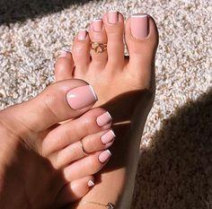 Pink Toe Nails, Pretty Toe Nails, Cute Toe Nails, Pink Toes, Feet Nails, Pretty Toes, Toe Nail Art, Beautiful Toes, Pink Nail
