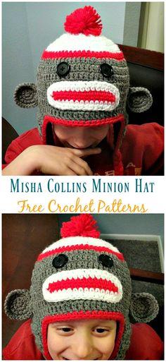 f4a1e995229 Sock Monkey Hat Free Crochet Patterns