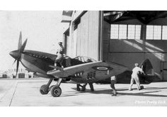 The South African Air Force Supermarine Spitfire Mk IX of the Air Operations School, Langebaanweg, South African Air Force, Experimental Aircraft, Supermarine Spitfire, Ww2 Aircraft, Disney Animation, Planes, Fighter Jets, Aviation, British
