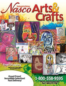 Nasco knows that arts are an important part of early childhood development, which is why Nasco Arts & Crafts Supplies catalog is the leading name when it comes to arts and crafts for children and hands-on art activities. Stock up on art and craft supplies for the classroom and studio at Nasco! What.