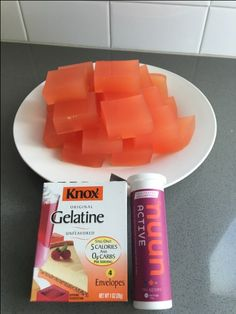This easy DIY recipe for Nuun jello will help heal your inflamed tendons! | Run2Run