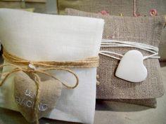 sacchettini portaconfetti lino - Cerca con Google