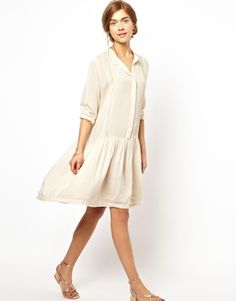 The perfect white summer dress.