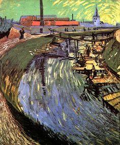 Винсент Ван Гог: Canal with Women Washing