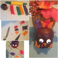 #AirheadsCrafts Used my free smiley360 airhead kit! Loved making the turkey!! I just rolled out the airhead strips and cut out little shapes. I used edible glue to make them stick on the marshmallow. Perfect for Thanksgiving! Check out this link also: http://landing.smiley360.com/airheadscrafts/index.htm