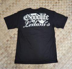 078eb344795d7 Good Life at Leilanis Collaboration Mens T-Shirt Hawaiian Wear, Surf  Outfit, Leis