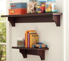 DIY shelves (pottery barn knock off)
