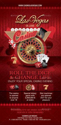 Casino Flyer | Casino Infographics
