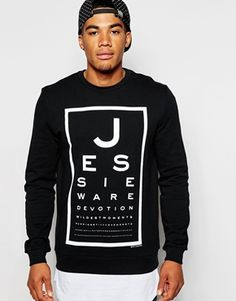 ASOS Sweatshirt With Jessie Ware Print