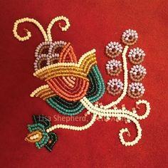 floral motif Lisa Shephard