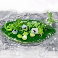 Rice of Peas and Cuttlefish Eggs at Quique Dacosta Dénia by cityfoodsters Cuttlefish, Plating, Rice, Eggs, Chefs, Ethnic Recipes, Instagram Posts, Food, Art