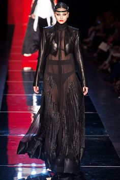 Magician's assistant...Jean Paul Gaultier Fall 2012 Couture