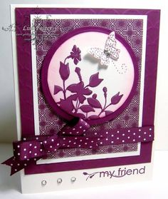 Try this with this set! My Razzelberry Friend by lisa foster - Cards and Paper Crafts at Splitcoaststampers