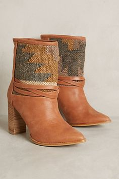 Howsty Lybia Booties #anthrofave #anthropologie