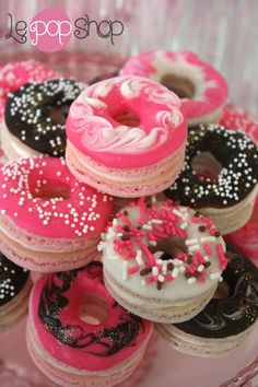 Glamour Macaronuts by LePopShop on Etsy, $36.00