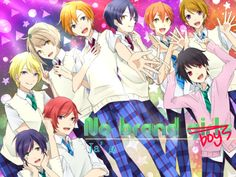 #Honoka #Kotori #Umi #Hanayo #Maki #Rin #Eli #Nico #Nozomi #Genderbend