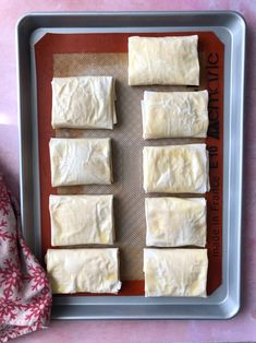 Greek Sweets, Greek Desserts, Greek Recipes, Bougatsa Recipe, Greek Pastries, Baking Supply Store, Lactose Free Milk, Cake Roll Recipes, Custard Desserts