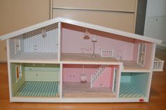 A Lundby house to display Gee & Lulu's Sonny Angels until older and then furnish? Sonny Angel, Diorama Ideas, Angels, Boxes, Doll, Display, Girls, Furniture, Home Decor