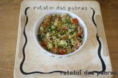 Tabouleh de quinoa | ratatui dos pobres