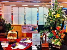 2012 South Okc Chamber trade Show Capitol Hill Florist Booth