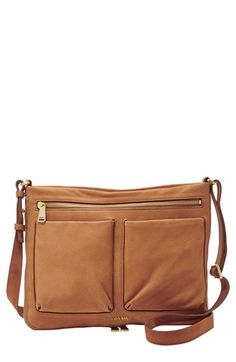 Fossil 'Small Piper' Leather Crossbody Bag