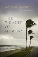 From Amazon:    In The Weight of Memory, memory is the common thread running through the storylines of Chandler, Sarah, and Leigh . All three women are from the same hometown, witnessed the death of a boy they all loved in high school, have complicated relationships with their fathers, and ride out Hurricane Katrina together in Destin, Florida.