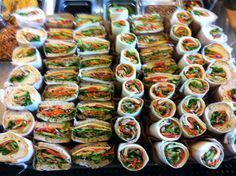 displaying food catering dreaming