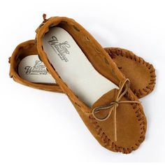 Leather Cherokee Moccasin Kit. Cozy and comfy.