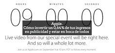 Rumores, viralidad, competencia y usuarios suponen cuatro patas importantes sobre las que se ayuda #Apple para promocionar sus productos sin gastar un sólo dólar aldeavillana.com