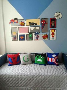 38 Magnificient Superhero Theme Ideas For Boy'S Bedroom is part of Marvel bedroom - Where do you start when you decide to redecorate your child's bedroom Most kids spend lots of time in their […] Room Decor For Teen Girls, Boys Bedroom Decor, Girls Bedroom, Bedroom Ideas, Bedroom Dressers, Bedroom Colors, Design Bedroom, Bedroom Furniture, Furniture Sets