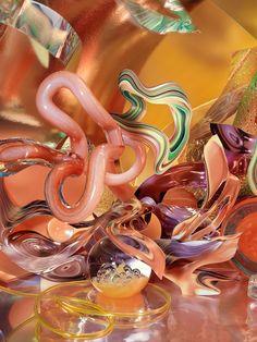 Spectrum on Behance Plastic Vase, Modern Wallpaper, Still Life Photography, Spectrum, Diy Projects, Behance, Creative, Glass, Illustration