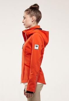 The Rider Jacket - Tangerine