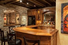 Unfinished Basement Ideas Design Ideas, Pictures, Remodel, and Decor - page 13