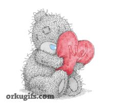 Heart For You Tatty Teddy Graphic