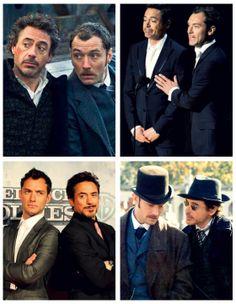 Jude and Robert; Watson and Holmes