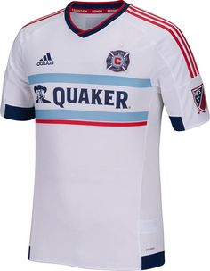 bd3e4a4b255 The new white Chicago Fire 2015 Away Kit introduces a fresh kit design with  a horizontal print on the front.