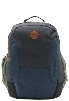 00e4081226 Quiksilver Backpacks - Quiksilver Poster Backpack - Dark Charcoal ...