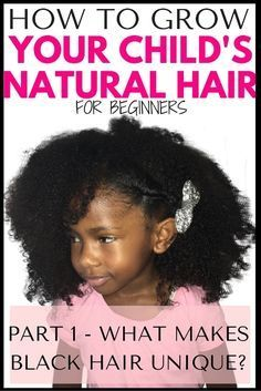 Wanting to grow your kids natural hair but unsure of where to start? Read part 1 in our series on growing children's natural hair and learn what makes Afro hair unique and how to set a strong foundation #kidsnaturalhair #naturalhairkids #naturalhair